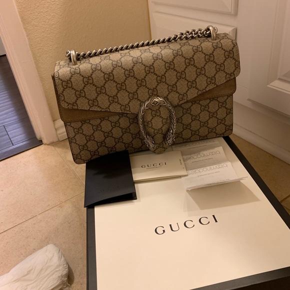 Gucci Handbags - Gucci Dionysus GG supreme small shoulder bag